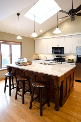 Overall photo of the kitchen