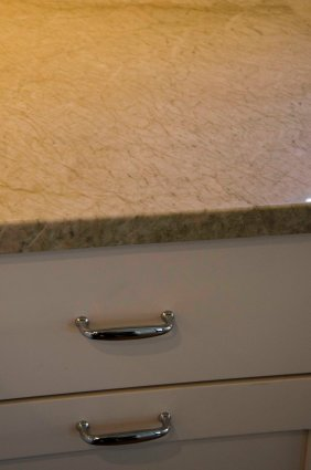 Countertop and cabinet detail