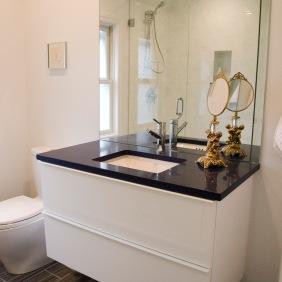 Second bath vanity