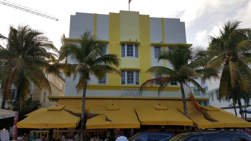 Leslie Hotel on Ocean Drive